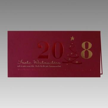 geschmackvolle gru karte f r weihnachten und neujahr rot. Black Bedroom Furniture Sets. Home Design Ideas