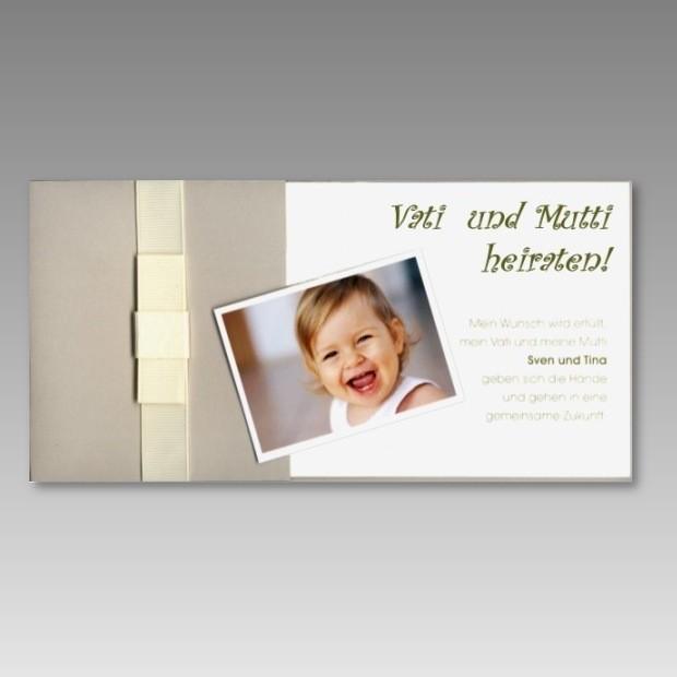 einladungskarten hochzeit mit kind – kathyprice, Einladungsentwurf