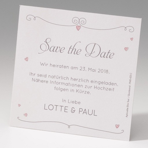 lustige comic save the date karte zur hochzeit. Black Bedroom Furniture Sets. Home Design Ideas
