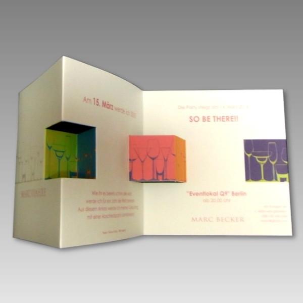 Moderne Einladungskarten Geburtstag Thegirlsroom Co