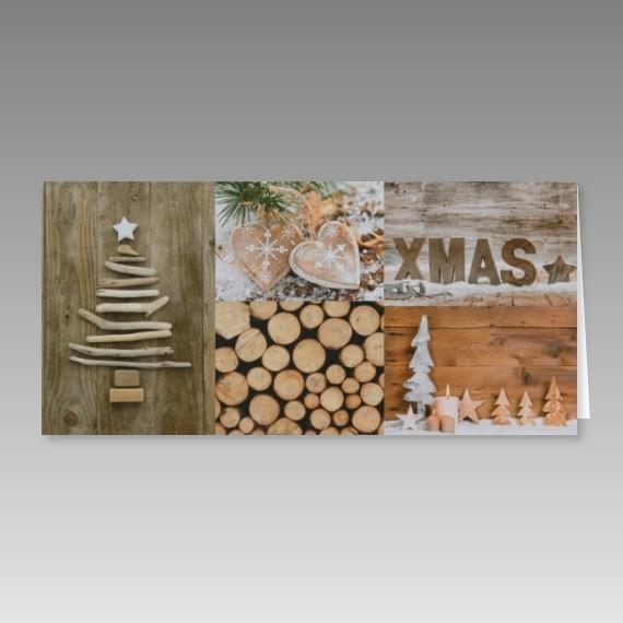sch ne weihnachtskarte mit ideen aus holz. Black Bedroom Furniture Sets. Home Design Ideas