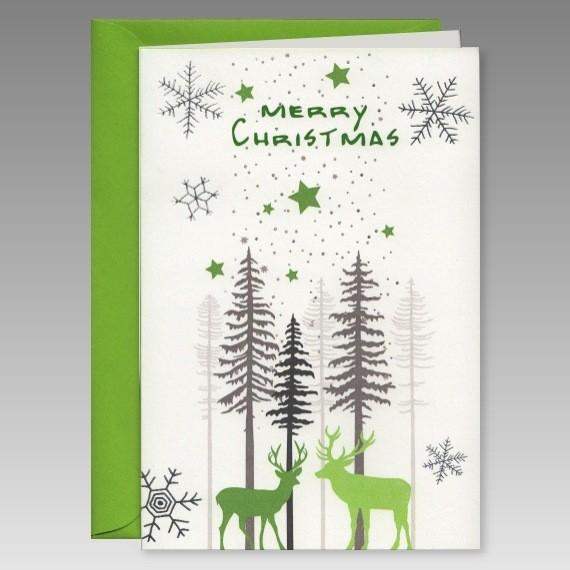 Moderne weihnachtskarte bestellen - Moderne weihnachtskarten ...