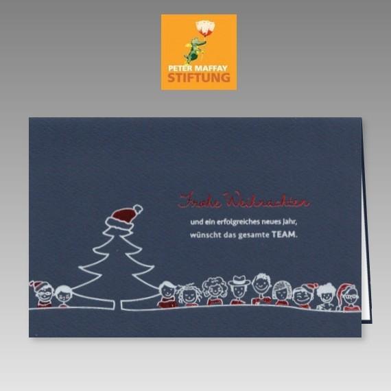lustige weihnachtsspendenkarte zugunsten der peter maffay. Black Bedroom Furniture Sets. Home Design Ideas