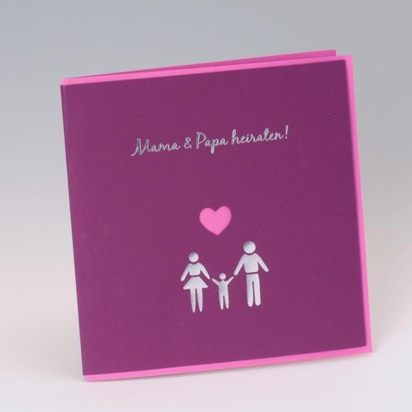 Einladungskarte Zur Hochzeit Oder Traufe
