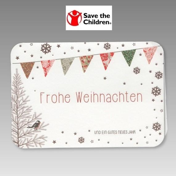 spendenkarte zu weihnachten neujahr f r save the children. Black Bedroom Furniture Sets. Home Design Ideas