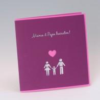 Einladungskarte Zur Hochzeit Oder Traufe, Einladungs
