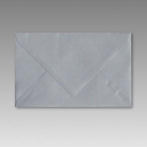 Spitzklappen-Umschlag in silbermetallic