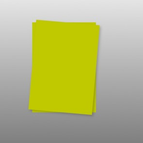 Papier Bogen 120 g in Limonegrün