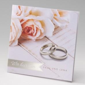 Einladungskarte Hochzeit Mit Wir Heiraten