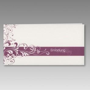 Einladungskarte, neutral und günstig
