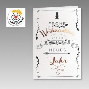 KlinkClowns Spenden-Weihnachtskarte