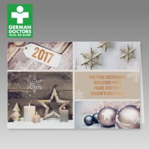German Doctors stimmungsvolle Spendenkarte