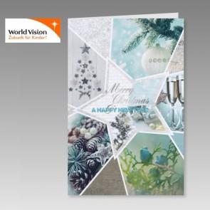 World Vision Weihnachtskarte im neuartigen Design