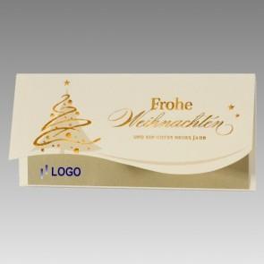 Hochwertige Firmen Weihnachtskarte