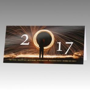 Neujahrskarte 2017 Branche Stahlbau