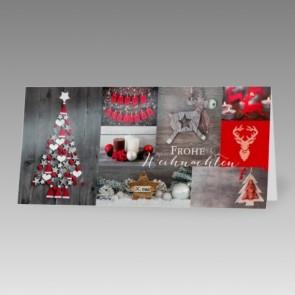 Weihnachtskarte, preisgünstig