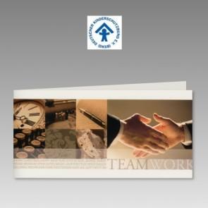 Firmen-Spendenkarte für Deutschen Kinderschutzbund mit Teamwork