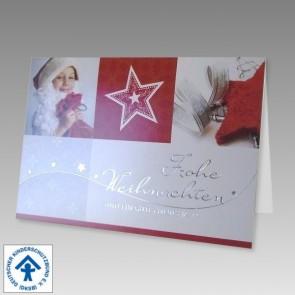 Spenden Weihnachtskarte für den Deutschen Kinderschutzbund