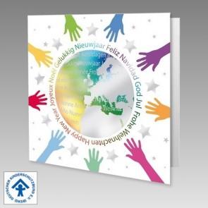 Spendenkarte Deutscher Kinderschutzbund, international