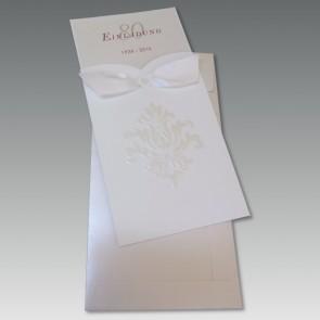 Feine Einladungkarte 80. Geburtstag