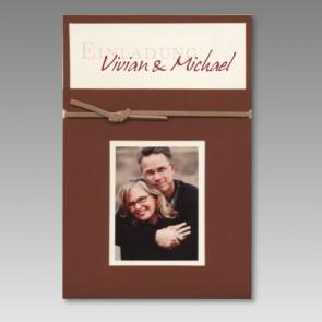 Einladungskarte Hochzeit mit Ihrem Bild