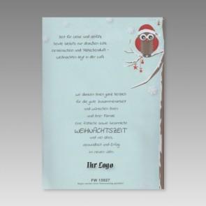 PC-Weihnachtsbrief für Laserdrucker