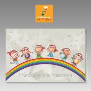 Zugunsten Peter Maffay Stiftung: Weihnachtliche Spendenkarte