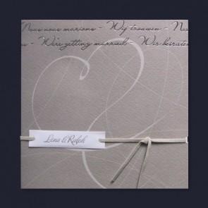 Preiswerte Einladungskarte Zur Hochzeit Mit Herz