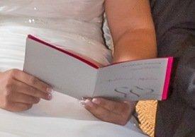 Kirchenhefte zur Hochzeit