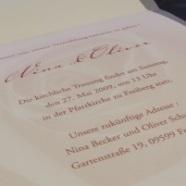 Hochzeitskarten » Einladung selbst drucken?