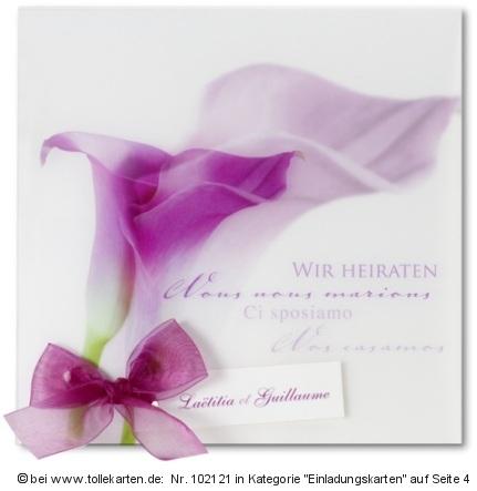 Außergewöhnlich Hochzeitskarte Mit Calla. Klick Vergrößert Die Einladung