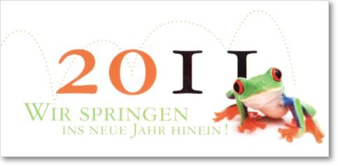 Witzige Neujahrskarten: