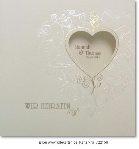 Romantische Einladung Für Ihre Hochzeit