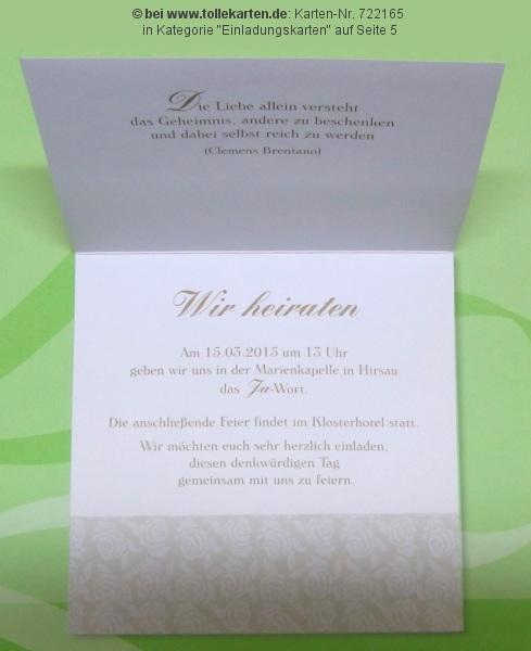 Einladung kirchliche hochzeit