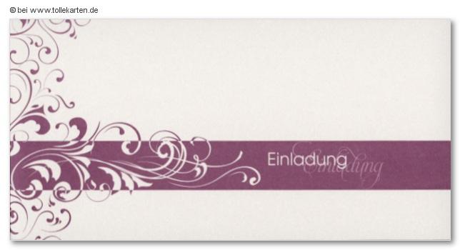 einladung silberhochzeit - einladungskarten
