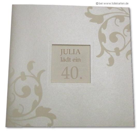 Lustige Geburtstagseinladung 40er | New Calendar Template Site