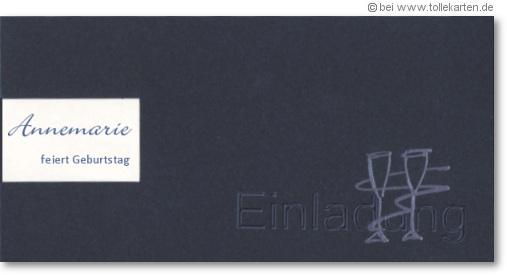 moderne einladungskarten geburtstag – kathyprice, Einladungsentwurf