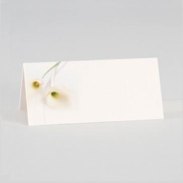 tischkarte zur hochzeit mit zwei callas a4 bogen. Black Bedroom Furniture Sets. Home Design Ideas