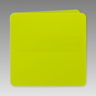 Quadratisch Klappkarte in grün