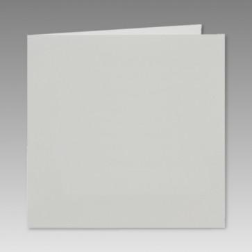 Quadratisch Klappkarte, hochglanzweiß