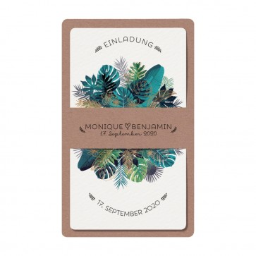 Einladungskarte Vorderseite