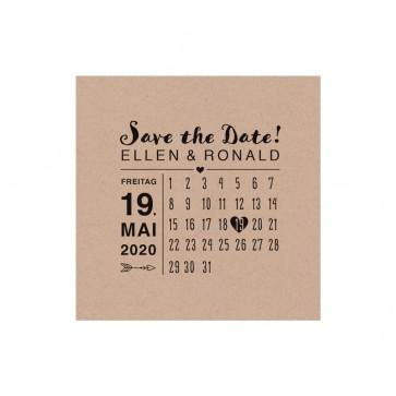 Vorschau Safe the date Karte