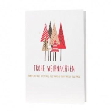 Fröhliche Weihnachtskarte - 868083