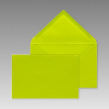 Grünes Kuvert, rechteckig