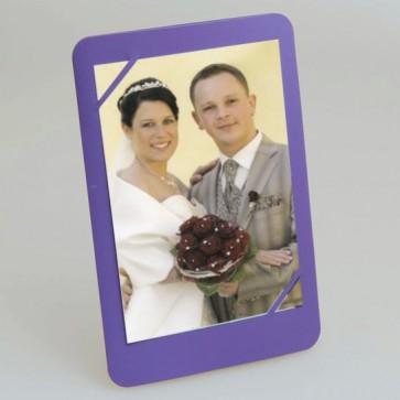 Hochzeit Danksagungskarte in lila