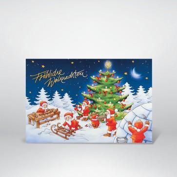 Lustige Weihnachtskarte - FW17933
