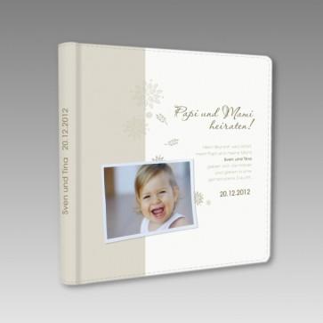 Gästebuch zur Hochzeit Papi und Mami heiraten