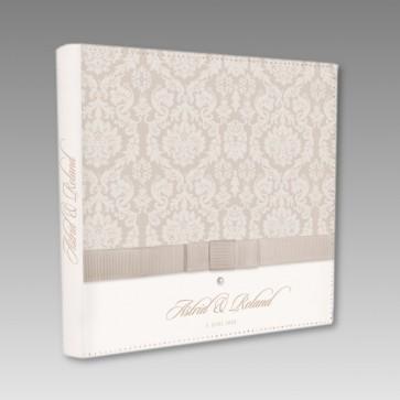 Gästebuch zur Hochzeit mit Barockmuster