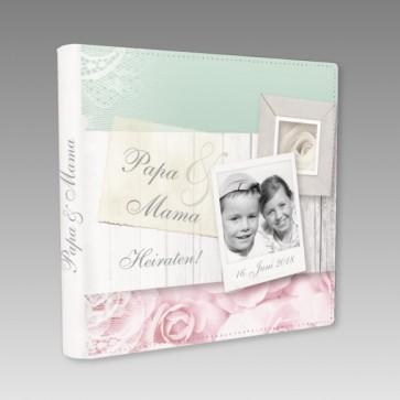 Hochzeitsgästebuch Papa und Mama heiraten
