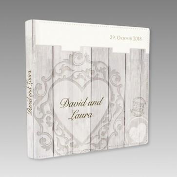 Fotoalbum u. Gästebuch zur Hochzeit
